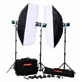 GOLDEN EAGLE Paket Studio T-228B Kit 3 - Lighting System Kit