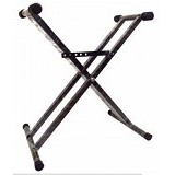 GOLDENVICTORYMUSIC Stand Keyboard Double (Merchant) - Keyboard & Piano Stand