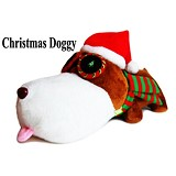 GOODSTORY Christmas Doggy - Boneka Binatang
