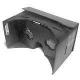 GOOGLE Cardboard VR Black Plastic Waterproof - Gadget Activity Device