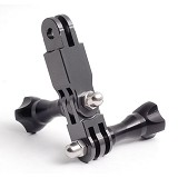 GOPRO 1 x Three-Way Pivoting Side Arm Assembly for HD Helmet Hero - Tripod Arm, Rail and Macro Bracket
