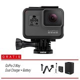 GOPRO HERO5 Exclusive Package 2 - Black (Merchant) - Camcorder / Handycam Flash Memory