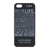GORIRA Life is Simple iPhone 5 Case - Casing Handphone / Case