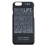 GORIRA Life is Simple iPhone 6 Case - Casing Handphone / Case