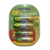 GP BATTERIES Batteries Rechargeable AA 2700mAH (Merchant) - Battery and Rechargeable