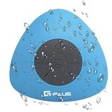 GPLUS Portable Waterproof Bluetooth Shower Speaker - Blue (Merchant) - Speaker Bluetooth & Wireless