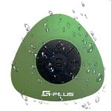 GPLUS Portable Waterproof Bluetooth Shower Speaker - Green (Merchant) - Speaker Bluetooth & Wireless