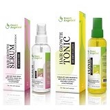 GREEN ANGELICA Combo 1 Tonic Dan Serum Vitamin Anti DHT - Tonik Rambut / Hair Tonic