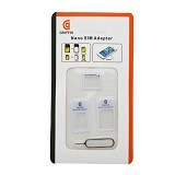 GRIFFIN 3in1 Nano Micro SIM Card Adapter - White (Merchant) - Sim Card Cutter & Adapter