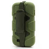 GRIFFIN Survivor Protective Case For Samsung Galaxy S4 - Olive Green - Casing Handphone / Case