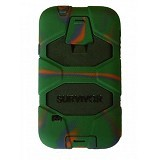 GRIFFIN Survivor Protective Case For Samsung Galaxy S5 - Camouflage - Casing Handphone / Case