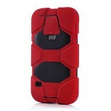 GRIFFIN Survivor Protective Case For Samsung Galaxy S5 - Red Black - Casing Handphone / Case