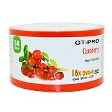 GT-PRO DVD-R Cranberry Spindel 50 Pcs - Dvd-R Disc