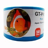 GT-PRO DVD-R Fish Spindel 50 Pcs - Dvd-R Disc