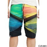 GUDANG FASHION Beach Shorts Mens [CLN 883-A] - Black Combination - Celana Pendek Pria