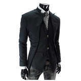 GUDANG FASHION Blazer Model Korea Size XL [BLZ 602-XL] - Hitam