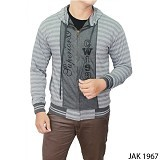 GUDANG FASHION Casual Jackets For Men [JAK 1967-A] - Grey
