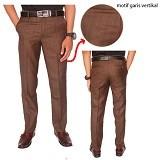 GUDANG FASHION Celana Formal Kantor Size 28 [CLN 605-28] - Hijau Lumut - Celana Panjang Pria