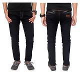 GUDANG FASHION Celana Jeans Garmen Size 31 [CLN 602-31] - Hitam
