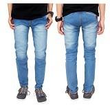 GUDANG FASHION Celana Jeans Panjang Size 31 [CLN 596-31] - Biru Muda
