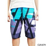 GUDANG FASHION Celana Pantai [CLN 879-A] - Blue Combination