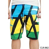 GUDANG FASHION Celana Pantai Casual [CLN 882-A] - Yellow Combination