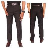 GUDANG FASHION Celana Resmi Formal Pria Size 36 [CLN 608-36] - Hitam - Celana Panjang Pria