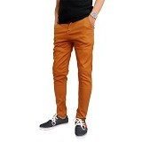 GUDANG FASHION Chinos For Men Size 28 [CLN 855] - Orange - Celana Panjang Pria