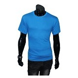 GUDANG FASHION Kaos Polos O-neck Size M [POL 12-M] - Turkish Tua - Kaos Pria