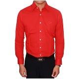 GUDANG FASHION Kemeja Panjang Formal Size XL [LNG 1419-XL] - Merah - Kemeja Lengan Panjang Pria