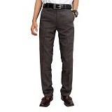 GUDANG FASHION Pants For Men Size 34 [CLN 811] - Silver - Celana Panjang Pria