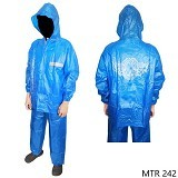 GUDANG FASHION Raincoat For Motorcycle Riders [MTR 242] - Biru - Jas Hujan