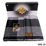 GUDANG FASHION Sarung [SRG 13-A] - Black White (Merchant) - Sarung