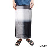 GUDANG FASHION Sarung [SRG 89-A] - Black White - Sarung