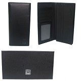 GUDANG FASHION Wallets Mens [WAL 367-A] - Black - Dompet Pria