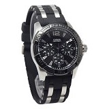 GUESS Watch [W0366G1] - Black - Jam Tangan Pria Fashion
