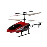 GYOSHO G500 Durable King 3.5 Channel Mainan RC Helicopter with Gyro - Red (Merchant) - Plane and Helicopter Remote Control