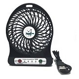 HADATA Kipas USB Mini [F95B] - Black - USB & Portable Fan