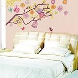 HANA WALLSTICKER Sangkar Warna 60x90cm - Wall Art / Hiasan Dinding