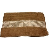 HANDUK 55 Handuk Motif 70x140 - Sigmatic Brown (V)