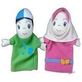 HANUN TOYS Boneka Tangan Orang Anak Muslim - Boneka Kain