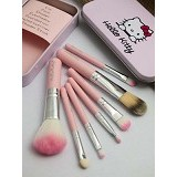 HAPPY ENDING Makeup Brush Set Hello Kitty - Kuas Make-Up