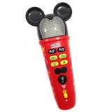 HAPPY TOON Mickey Mouse Rockstar Pro Microphone [NB-01953] - Mainan Musikal