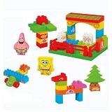 HAPPY TOON SpongeBob Block House [NB-01352] - Building Set Architecture