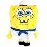 HAPPY TOON SpongeBob Plush Sailor [NB-01016] - Boneka Kain