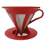 HARIO Cafeor Dripper 02 Red [CFOD-02-R] - Mesin Kopi Manual