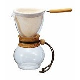HARIO Drip Pot 240ml [DPW-1] - Mesin Kopi Manual