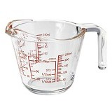 HARIO Measure Cup 250ml [MJP-250] - Gelas Ukur