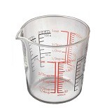 HARIO Measuring Cup 200ml [CMJ-200] - Gelas Ukur