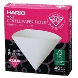 HARIO Paper Filter White for Dripper 01 40 Sheets [VCF-01-40W] - Kertas Filter Kopi